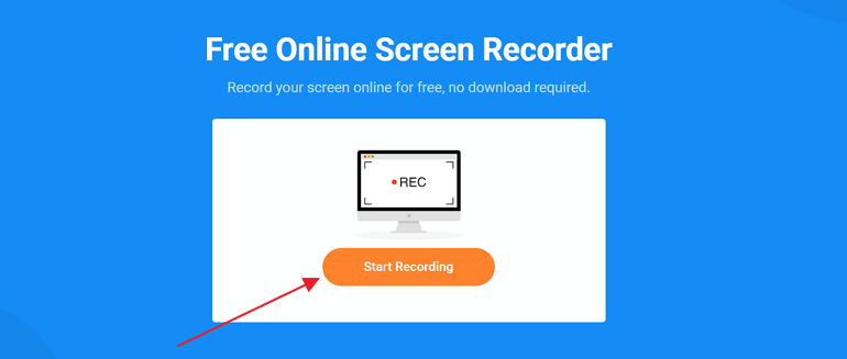 Record Screen on Mac with FlexClip Recorder