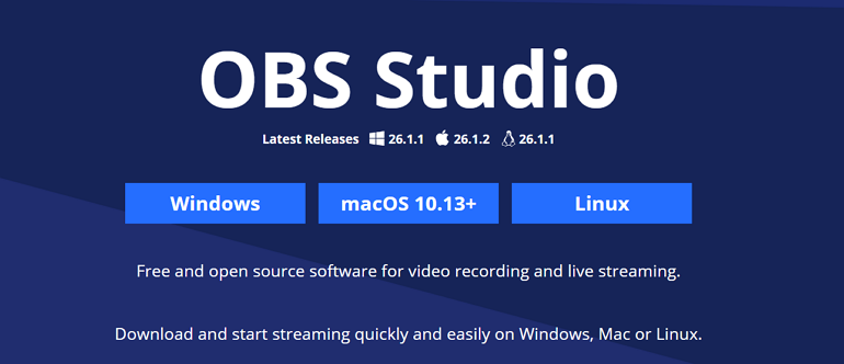 Record Screen on Mac with OBS Studio